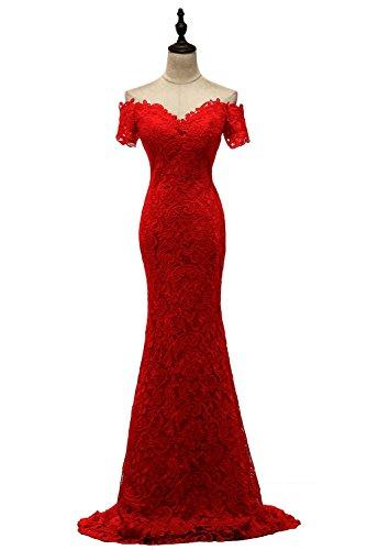 Vimans - Robe - Moulante - Femme red
