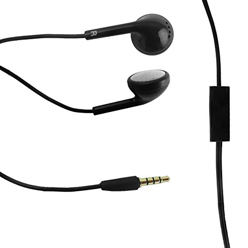 Genuine ZTE Schwarz 3.5mm Stereo-Ohrhörer Kopfhörer mit Mic Geeignet für ZTE Blade S6, Star 2, Speed, Grand X Max, Kis 3, Nubia Z7, Blade, Blade L2, Blade Vec and Other ZTE devices Mit 3,5 mm Klinke an Bulk Packaging