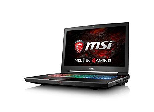 """MSI Gaming GT73VR 6RE-050NL Titan 4K 2.7GHz i7-6820HK 17.3"""" 3840 x 2160Pixel Nero Computer portatile"""