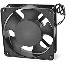 AC 220-240V 0.14A Rodamientos Bolitas Industrial Ventilador Enfriador Negro 120x40mm