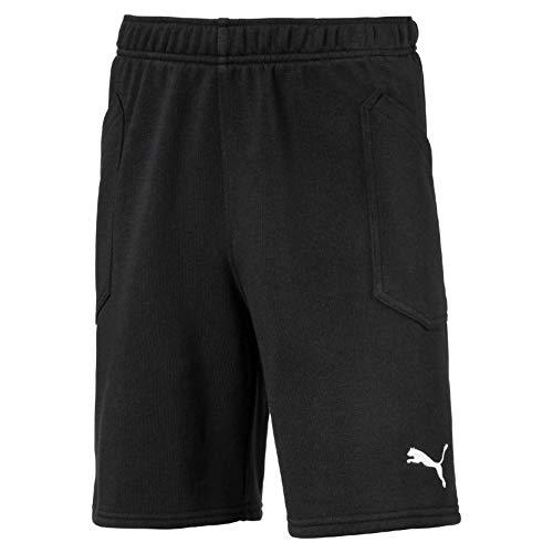 PUMA Kinder Liga Casuals Shorts Jr Hose, Black White, 176