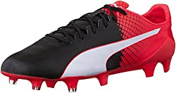 PUMA Men s Evospeed SL II Tricks FG Soccer Shoe Puma Black/Puma White 10 D(M) US