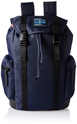 Superdry City Breaker Zaino Casual, 40 cm, Midnight Navy (56T)