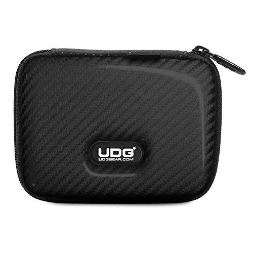 UDG Creator DIGI Hardcase Small Black U8451BL - Custodia rigida di protezione contro cadute, graffi e liquidi, per contenere 4 memorie USB, SD card, biglietti da visita ed accessori, Nero