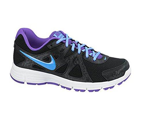 Nike Revolution 2, Chaussures de Running Entrainement Homme, Blanc, Taille Black/Hyper Grape/White/University Blue