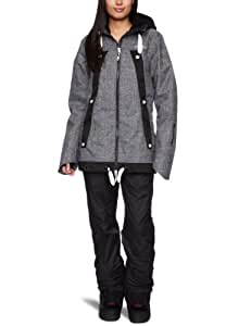 O'Neill Women's Sparkle Snow Jacket   -  Black Out, Large