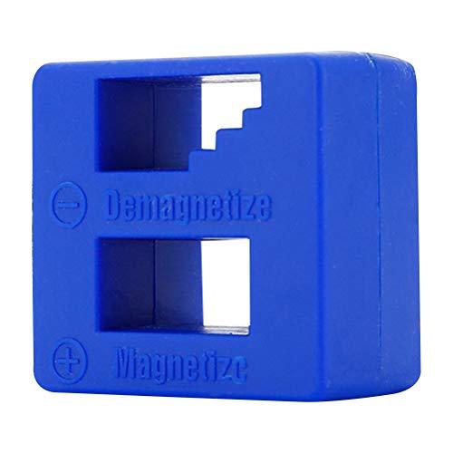 OUNONA Magnetisierer und Entmagnetisierer für Schraubenzieher Magnetisiergerät Werkzeuge (blau)