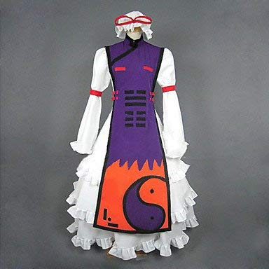 Sunkee Touhou Project Cosplay Yakumo Yukari Kostüm, Größe L( Alle Größe Sind Wie Beschreibung Gesagt, überprüfen Sie Bitte Die Größentabelle Vor Der Bestellung )