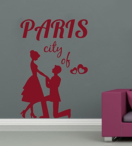 Paris-art-home-dekor (Zigzacs Wandaufkleber Stadt Paris Design Wandbild Art Home Zimmer Dekor Bild)