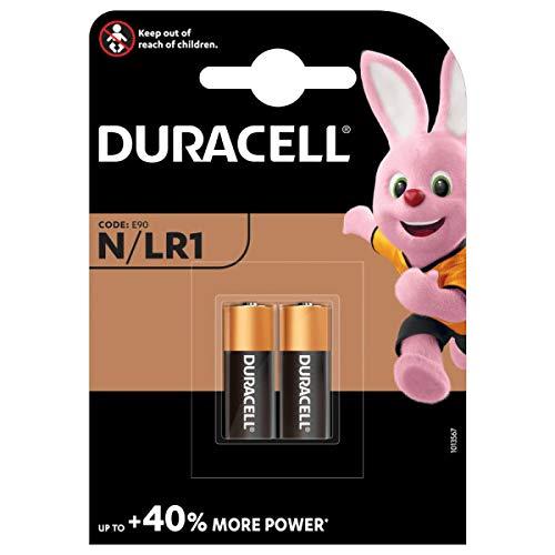 Duracell - Pilas especiales alcalinas N de 1.5V, paquete de 2...
