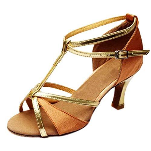 Darringls_Sandalias de Primavera Verano Mujer,Zapatos de Baile de Salsa de Tango Zapatos de Baile Latino...