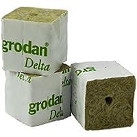 grodan Delta 4cm x 4cm x 4,5cm en diferentes cantidades Incluye greenception Crecimiento abono 100g