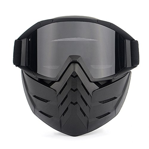 maschera antipolvere da moto