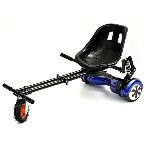 GoHoverkart Monster – carbonio nero