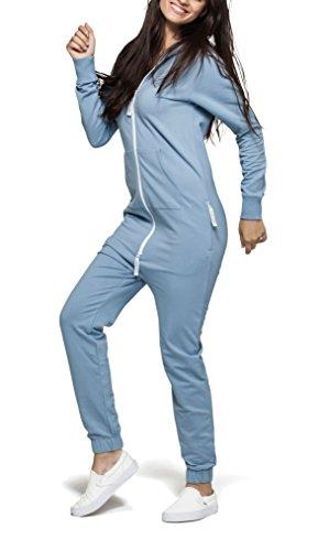 OnePiece Unisex Jumpsuit Original, Blau (Dusty), 34 (Herstellergröße: XS) - 6