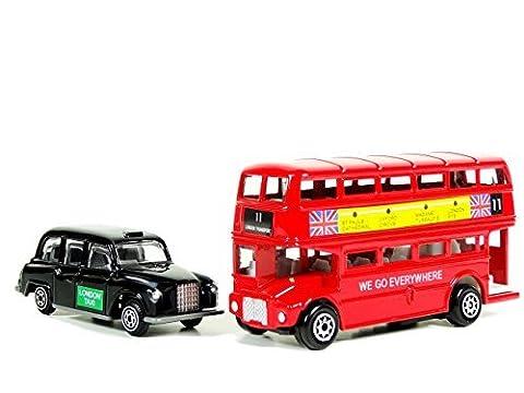 Bus Imperial - London Red Bus à impériale et en