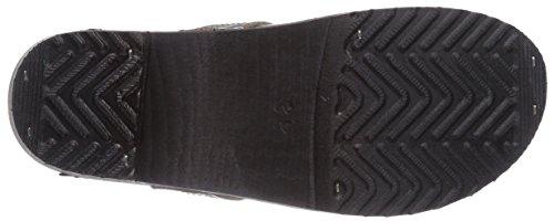 Gevavi Dakota Hommes Muff Noir 36, Zoccolo Unisexe Nero (schwarz (schwarz (noir) 00)))