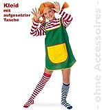 Karlinchen Kleid Kinder Kostüm 1tlg. 104