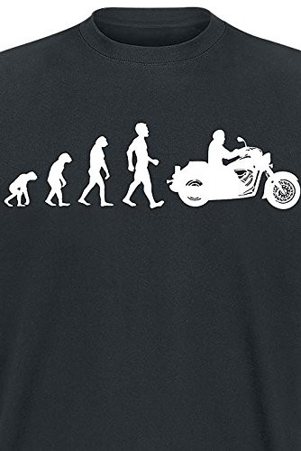 Bikers, The Pride Of Creation T-Shirt schwarz Schwarz