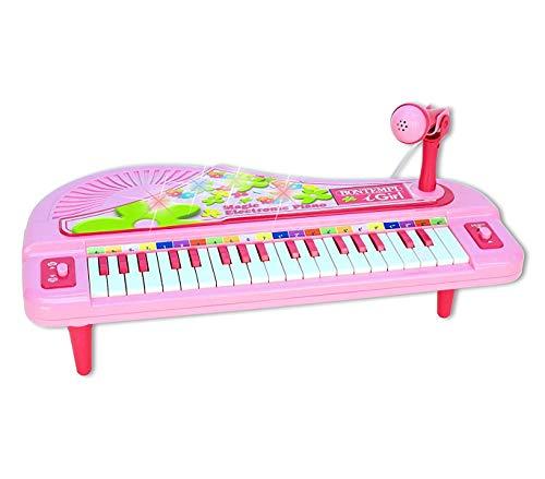 Mediawave store bontempi igirl 102071 pianoforte elettrico da tavolo 37 tasti microfono brani