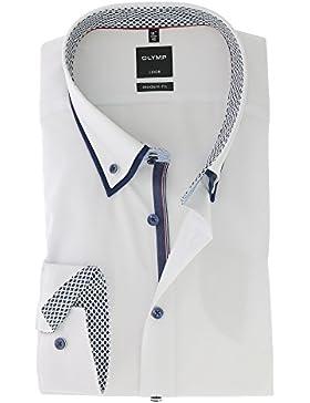 OLYMP Bezner KG - Camisa formal - Básico - con botones - para hombre