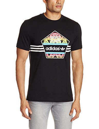 adidas Herren T-shirt World Champs Black