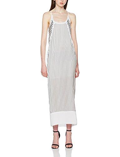 Calvin Klein Devon Stripe Strappy SL Maxi Dress, Vestido para Mujer