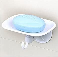 boricha Multipurpose Soap Dish Holder with Super Suction Cup