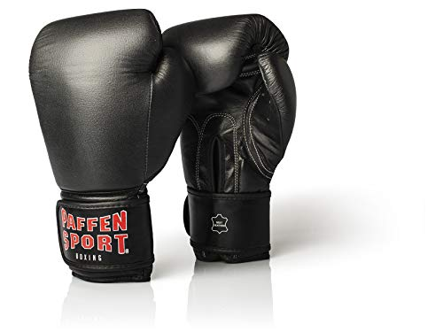 Paffen Sport kibo Fight Guantoni da Boxe per Il Sparring, Adulti (Unisex), Kibo Fight, Nero, 283 g