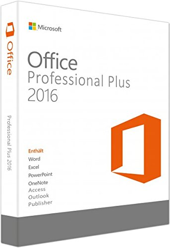 Microsoft Office 2016 Professional Plus 32 / 64bit OEM lizenz KEY