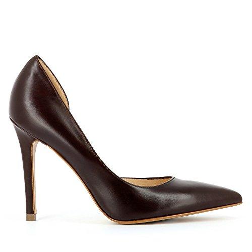 Evita Shoes Alina, Escarpins femme marron foncé