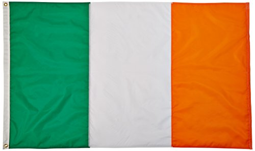 Annin Flagmakers Nylon SolarGuard NYL-Glo Flagge Irland 3x5' Nicht zutreffend - Nyl Banner