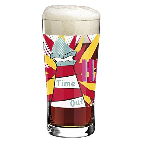 Ritzenhoff 3090011 Beer und More Design Trend-/Bier-/Wasser Glas mit Bierdeckeln, Yvonne So, Frühjahr 2015