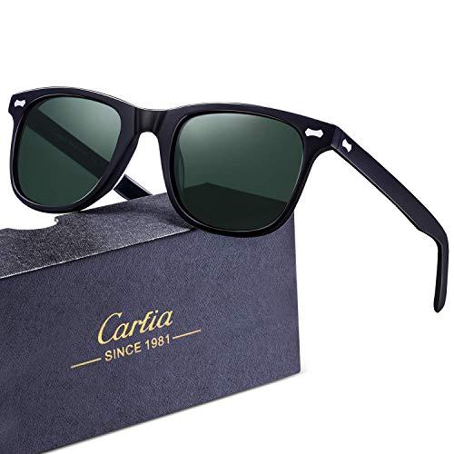 90e68e42019206 Carfia Polarisierte Herren Sonnenbrille UV 400 Schutz Sportbrille ...