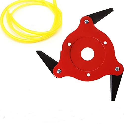 WuLi77 3T 6T Mangan Stahlrasierer Rasenmäher Rasentrimmer Kopf Klinge Für Garten Rasen Maschine Zubehör Elektrowerkzeuge - Decker Und Black Trimmer Rasen