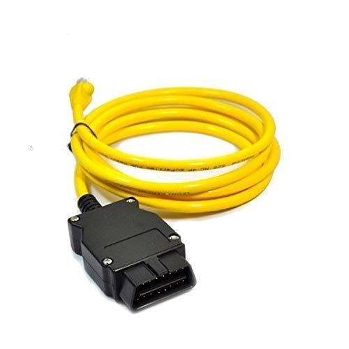 Goldplay ENet RJ45 Câble connecteur Ethernet Outils au Câble d'interface OBD F-Series de Codage pour BMW