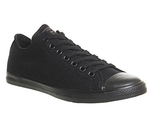 Converse - Ctas Mono Ox, Sneaker alte Donna Nero/Nero