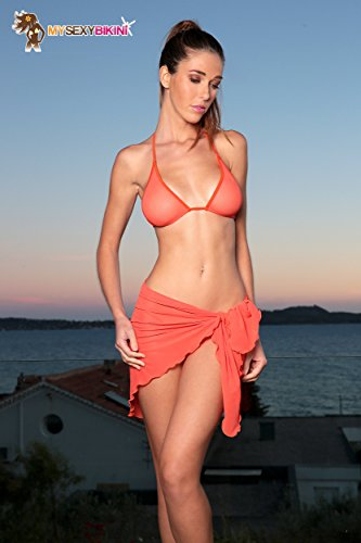 my sexy bikini -  Coordinato  - Donna orange paprika 3 pièces string + tanga + sg