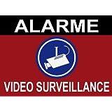 """Panneau de dissuasion """"Alarme vidéo surveillance"""" 150x100mm"""