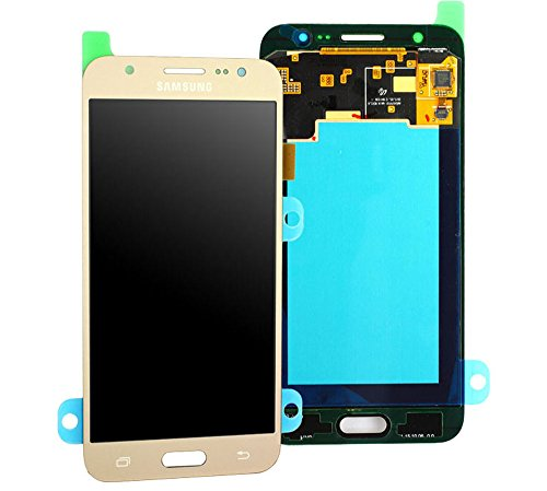 galaxy j5 j500f Original Samsung Galaxy J5 2015 SM J500F J500 LCD AMOLED Display Touchscreen Digitizer Einheit OCTA Gold GH97-17667C
