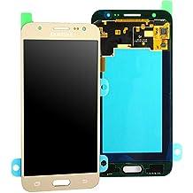 Original Samsung Galaxy J52015SM j500F J500LCD digitalizador para pantalla táctil AMOLED unidad Octa Oro GH97–17667C