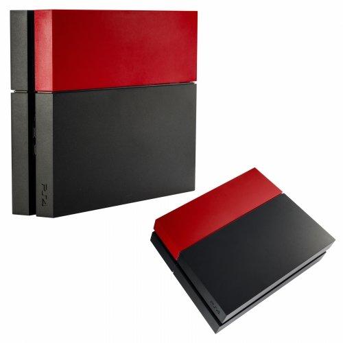 Preisvergleich Produktbild Playstation 4 Festplattenabdeckung HDD Cover matt (rot)