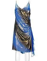 best loved 435c8 e915c Amazon.it: Oro - Blu / Vestiti / Donna: Abbigliamento