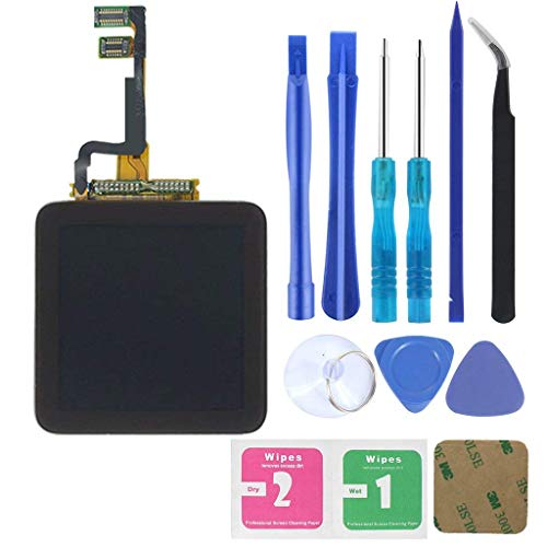 Full Repair Kit Touch Screen Digitizer Glass LCD Display Screen for iPod Nano 6th Generation Pre-assembly + Tool Kit with Adhesive-MEHRWEG
