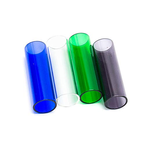 Denghui-ec, 4 Teile/Paket Ersatz Ersatzglasrohr für Cupti Tank Zerstäuber Durchmesser 19mm, Frei von Tabak und Nikotin (Color : Mix Color 2) -
