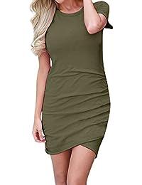 78bdd4ec7ce57 Amazon.it  Vestito di lana - Lungo   Vestiti   Donna  Abbigliamento