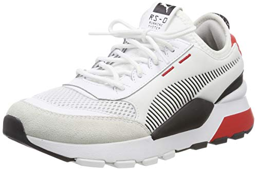 Puma Unisex-Kinder RS-0 Winter Inj Toys Jr Sneaker Blau White-High Risk Red, 35.5 EU