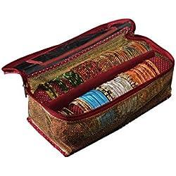 Srajanna Gold Bangle Organiser / Bangle Box - 2 Rods