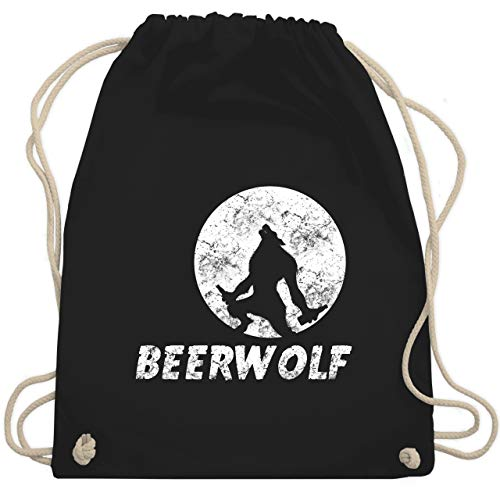 eerwolf - Unisize - Schwarz - WM110 - Turnbeutel & Gym Bag ()