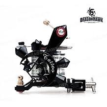 Tattoo gun Dragonhawk tattoo Machine Premium Iron 10 Wrap both Shader and Liner WQ4125